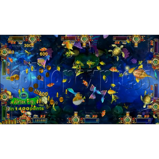 Dragon Slayer Video Fish Game Full Game Board Kit - game play-13