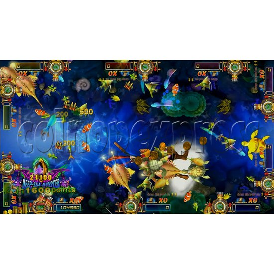 Dragon Slayer Video Fish Game Full Game Board Kit - game play-14