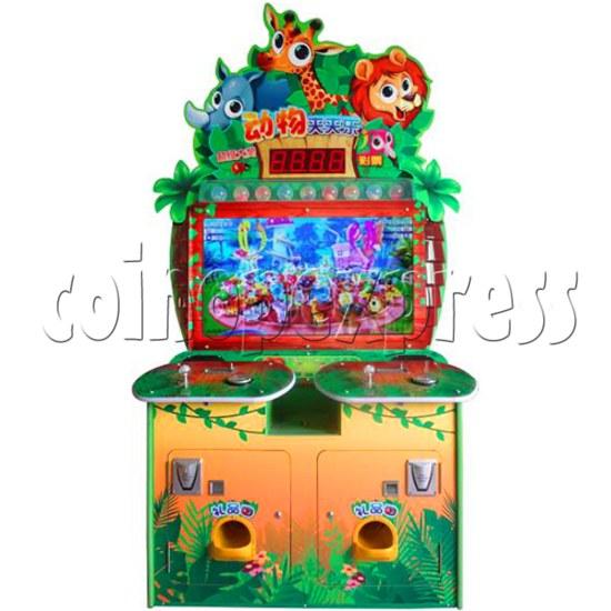 Animals Castle Virtual Prize Grabbing a Win Machine  36459
