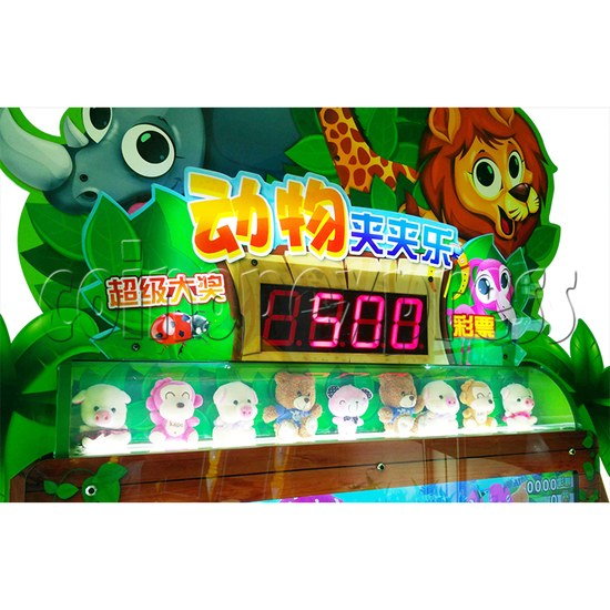 Animals Castle Virtual Prize Grabbing a Win Machine  36461