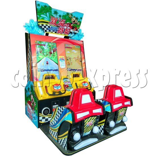 Funny Rowing Video Driving Game for Kids (2 players) 36477