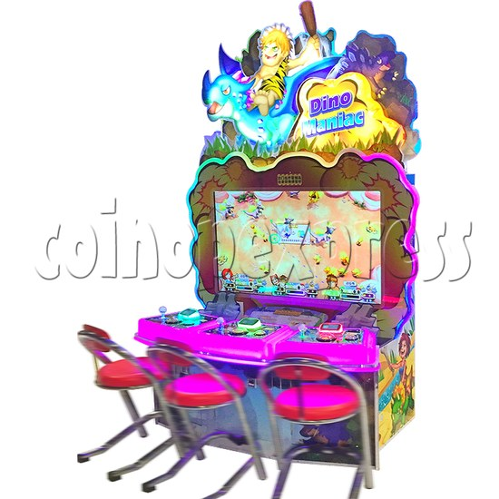 Bomb Bomb Dinosaur Video Shooter Game ( 3 players in 1)  36487
