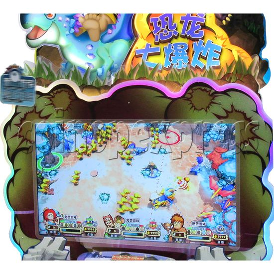 Bomb Bomb Dinosaur Video Shooter Game ( 3 players in 1)  36490