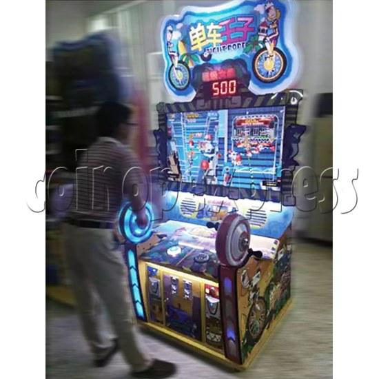Tight Rode Skill Test Ticket Redemption Video Game Arcade Machine 2 players 36493