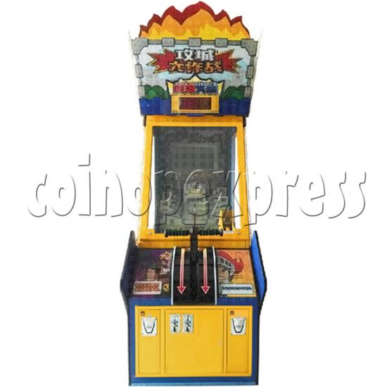 Castle Shootout Skill Test Game Machine  36496