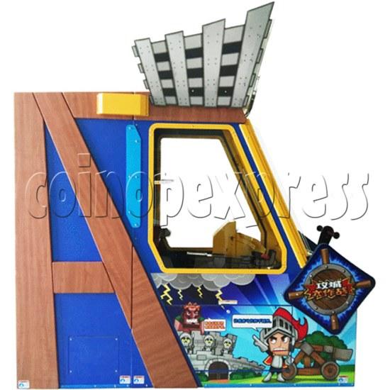 Castle Shootout Skill Test Game Machine  36497