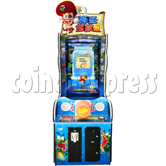 Pirate Falls Skill Test Video Game Machine 36501