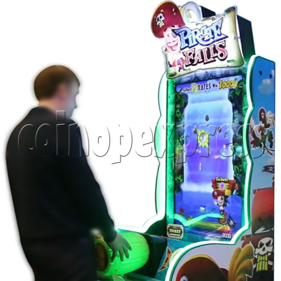 Pirate Falls Skill Test Video Game Machine 36503
