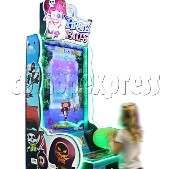Pirate Falls Skill Test Video Game Machine 36504