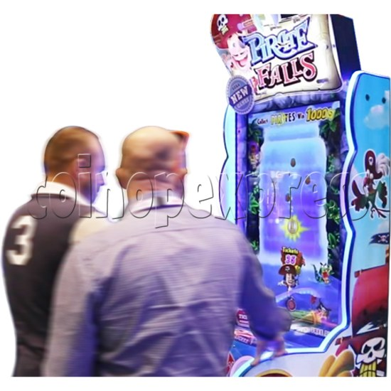 Pirate Falls Skill Test Video Game Machine 36505