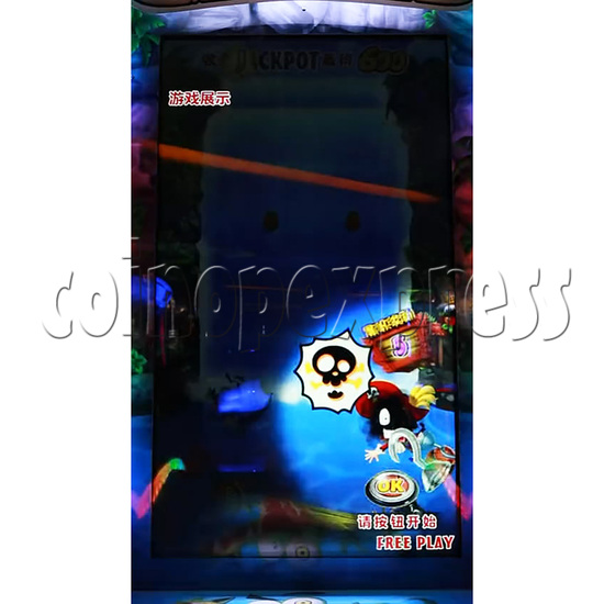 Pirate Falls Skill Test Video Game Machine 36507