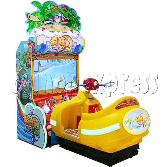 Crazy Rowboat Video Racing Game Kiddie Ride 36513