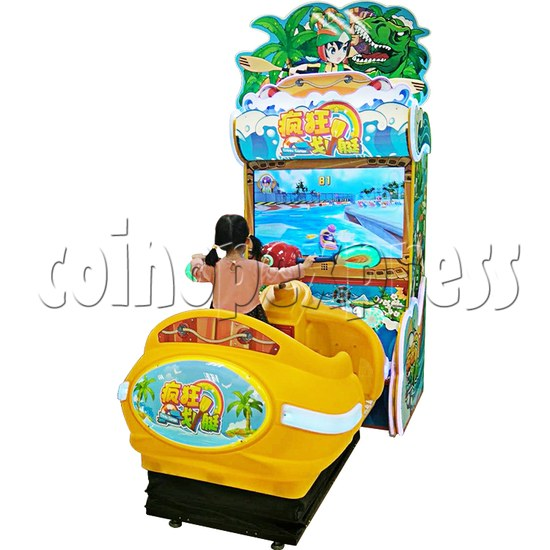 Crazy Rowboat Video Racing Game Kiddie Ride 36514