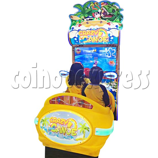 Crazy Rowboat Video Racing Game Kiddie Ride 36515
