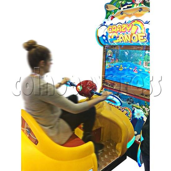 Crazy Rowboat Video Racing Game Kiddie Ride 36516