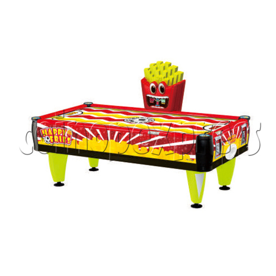 Happy Fries Coin-Operated Air Hockey Table for Adults 36523