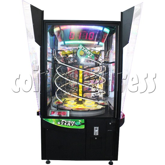 Pacman Swirl Ball Drop Redemption Game Machine ( 4 players) 36771