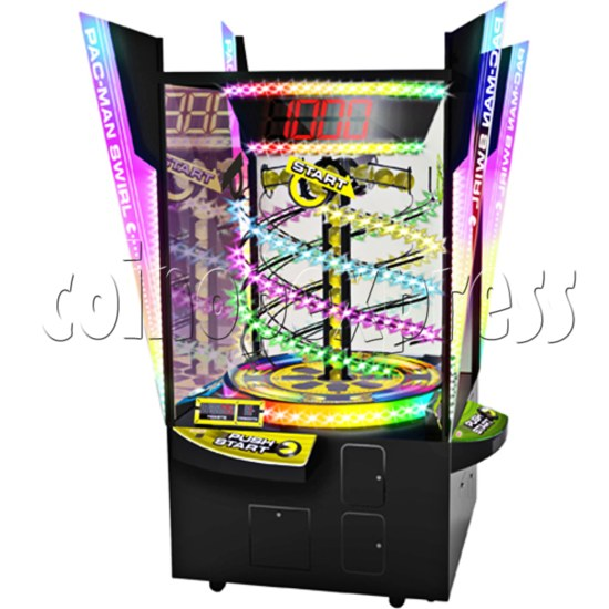 Pacman Swirl Ball Drop Redemption Game Machine ( 4 players) 36772