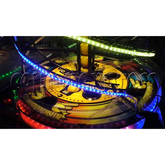 Pacman Swirl Ball Drop Redemption Game Machine ( 4 players) 36779