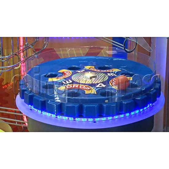 Triple Turn Ball Game Skill Test Redemption Machine 36791