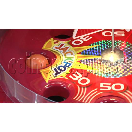 Triple Turn Ball Game Skill Test Redemption Machine 36795