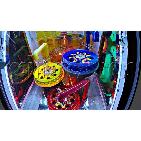 Triple Turn Ball Game Skill Test Redemption Machine 36796