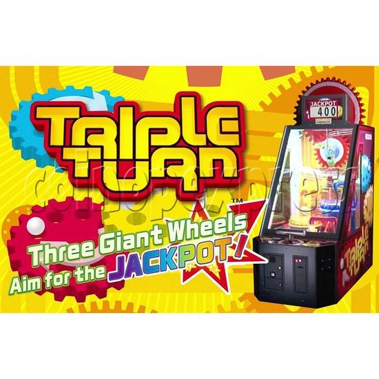 Triple Turn Ball Game Skill Test Redemption Machine 36805