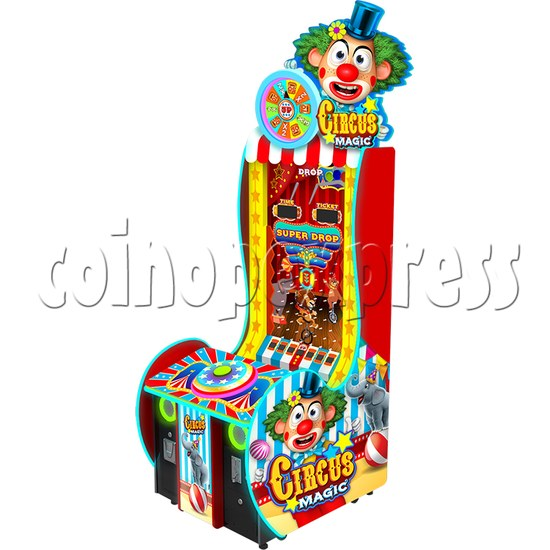 Circus Magic Super Ball Drop Skill Test Redemption Game Machines 36806