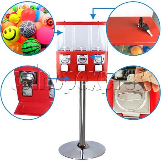3 in 1 Capsule Toys Vending Machine 36892