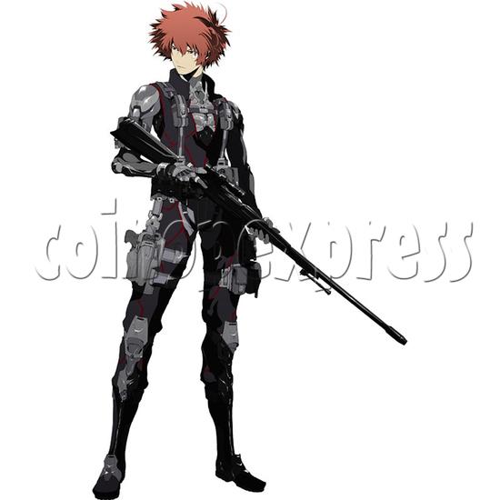 Silent Scope: Bone Eater Shooting Gun Machine 36949