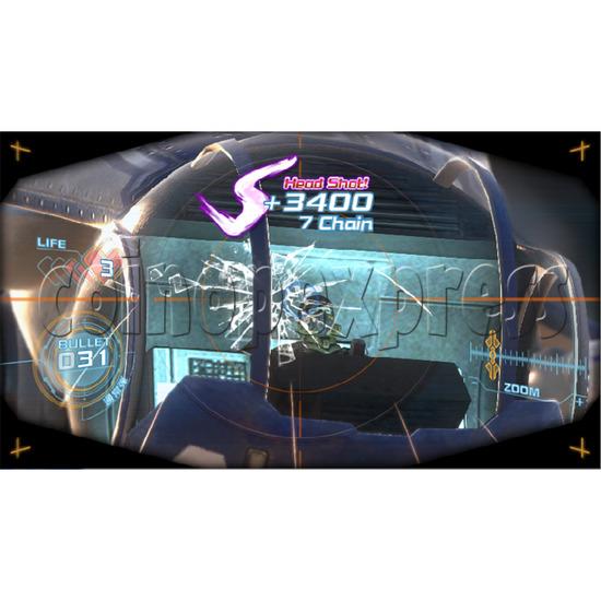 Silent Scope: Bone Eater Shooting Gun Machine 36952