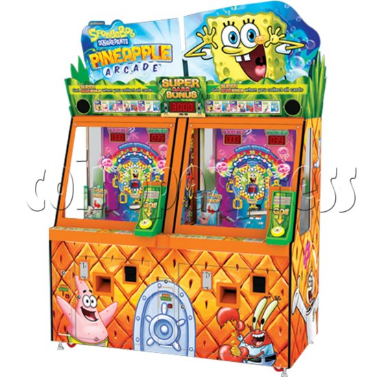 SpongeBob Pineapple Arcade Redemption Game Machine 36976