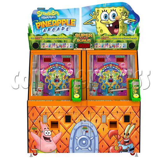 SpongeBob Pineapple Arcade Redemption Game Machine 36977