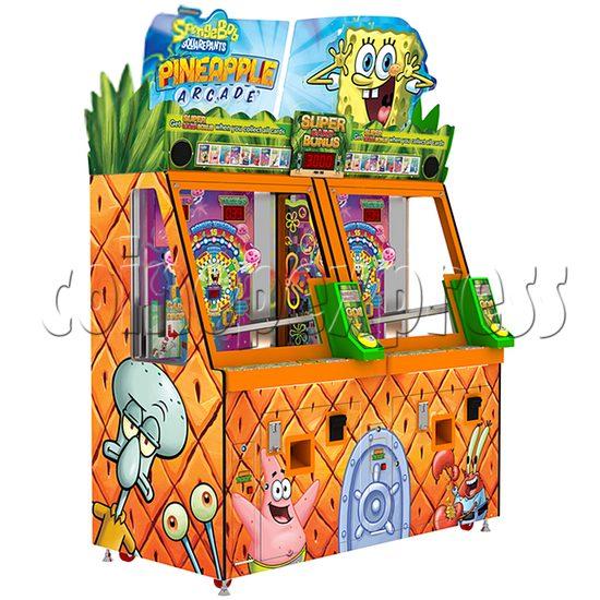 SpongeBob Pineapple Arcade Redemption Game Machine 36978