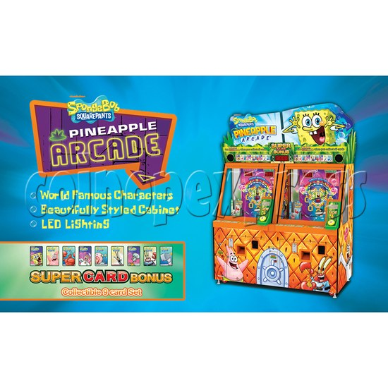 SpongeBob Pineapple Arcade Redemption Game Machine 36979