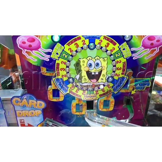 SpongeBob Pineapple Arcade Redemption Game Machine 36982