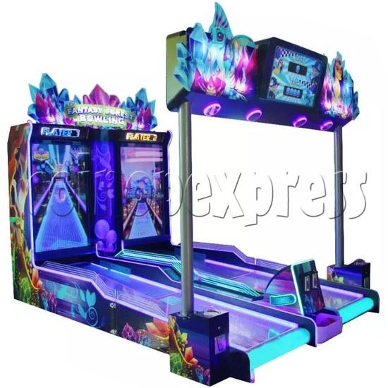 Fantasy Forest Bowling Ticket Redemption Arcade Machine - left view