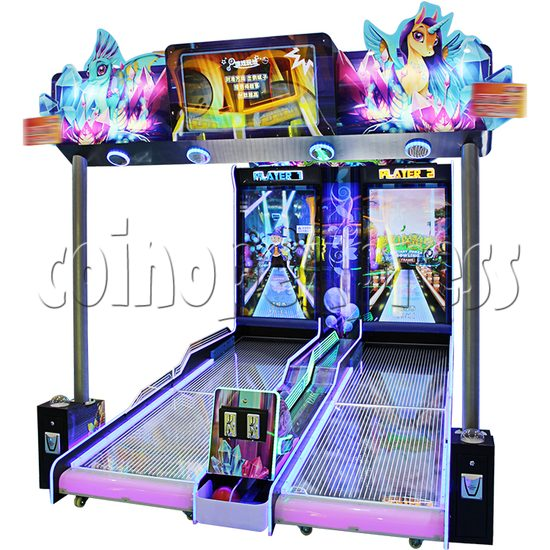 Fantasy Forest Bowling Ticket Redemption Arcade Machine - right view