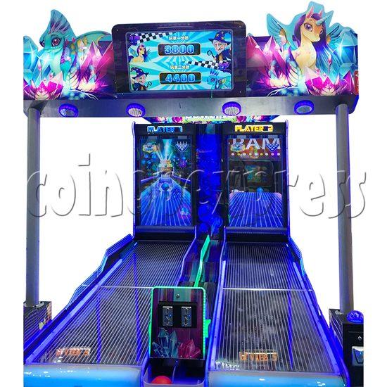 Fantasy Forest Bowling Ticket Redemption Arcade Machine - front view