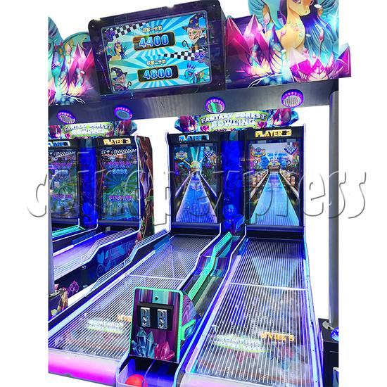 Fantasy Forest Bowling Ticket Redemption Arcade Machine - side view 3