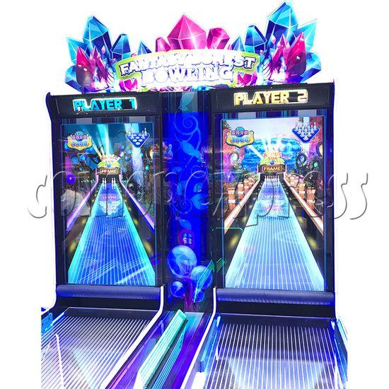 Fantasy Forest Bowling Ticket Redemption Arcade Machine - side view 4