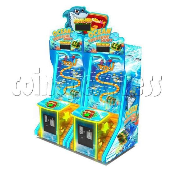 Ocean Treasure Hunt Skill Test Ticket redemption machine  37018