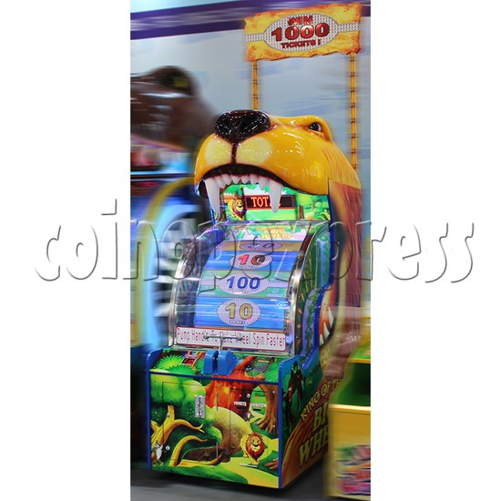 King Of The Big Wheel Ticket Redemption Arcade Machine for Kid size - side view 1