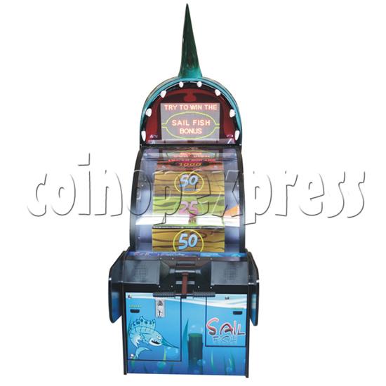 Sail Fish Wheel Redemption Game Machine 37061