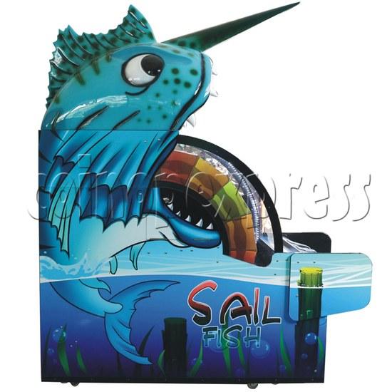 Sail Fish Wheel Redemption Game Machine 37062