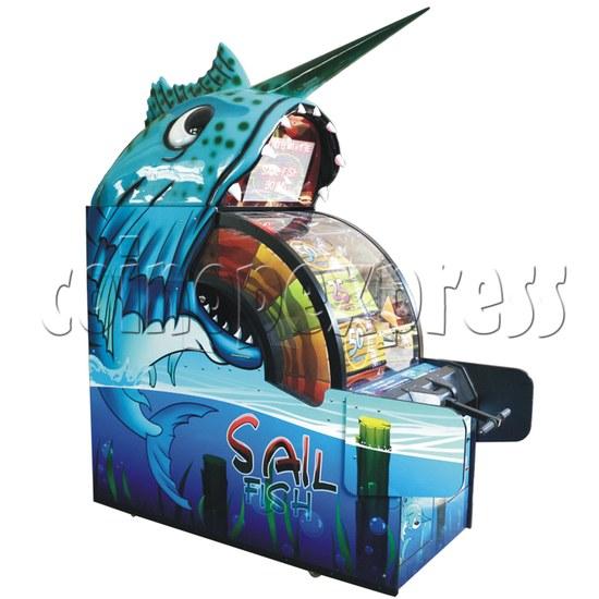 Sail Fish Wheel Redemption Game Machine 37063