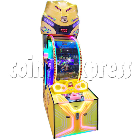 Route 66 Wheel Game Ticket Redemption Machine with 42 inch screen  37064