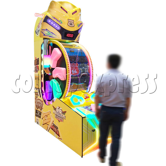 Route 66 Wheel Game Ticket Redemption Machine with 42 inch screen  37065