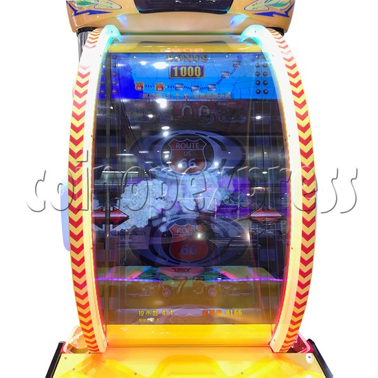 Route 66 Wheel Game Ticket Redemption Machine with 42 inch screen  37069