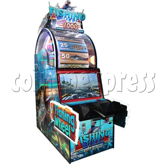 Fishing Wheel Game Ticket Redemption Arcade Machine - left view 1